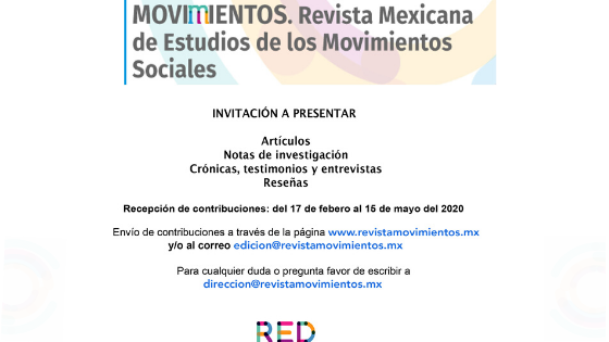 Convocatoria de Revista Movimientos